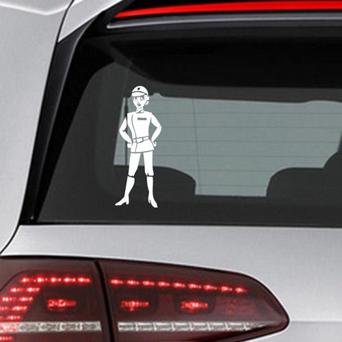 Фамилен стикер за кола Star Wars Officer