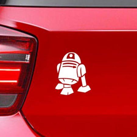 Фамилен стикер за кола Star Wars R2 D2