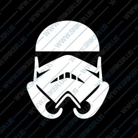 Фамилен стикер за кола Star Wars Trooper