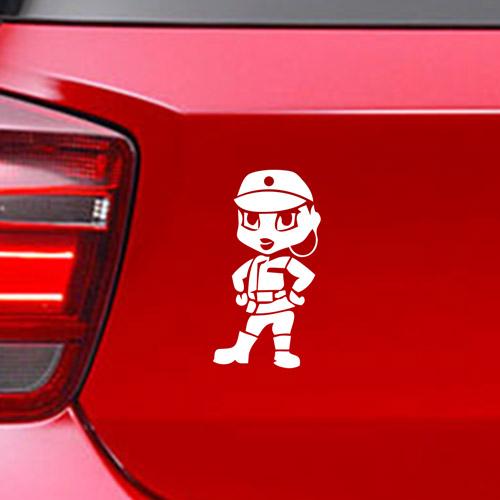 Фамилен стикер за кола Star Wars Imperal Officer