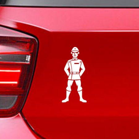 Фамилен стикер за кола Star Wars Imperial Officer