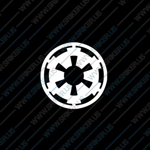 Фамилен стикер за кола Star Wars Galactic Empire