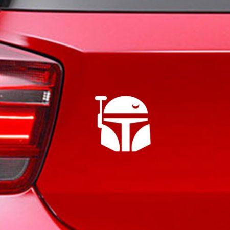 Фамилен стикер за кола Star Wars Boba Fett